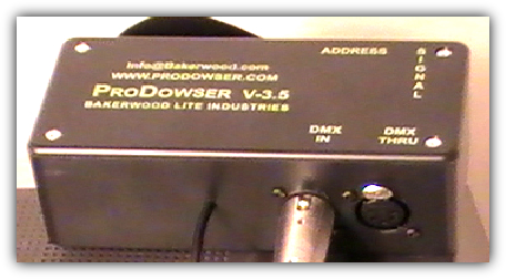 Video Projector Dowser